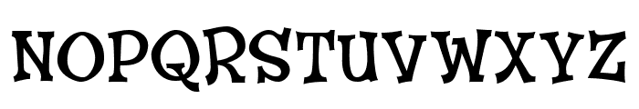 CheGuevara Wacky Medium Font UPPERCASE
