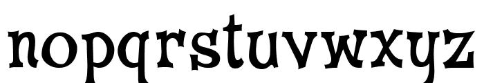 CheGuevara Wacky Medium Font LOWERCASE