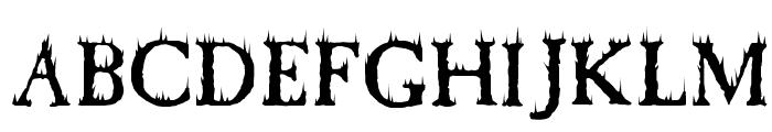 Cheap Fire Font UPPERCASE