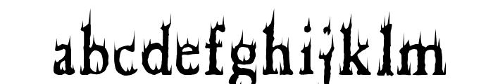 Cheap Fire Font LOWERCASE