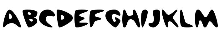 Cheap Motel Font UPPERCASE