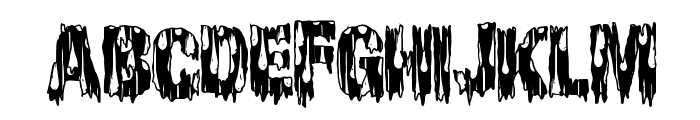 CheapHorror Font UPPERCASE