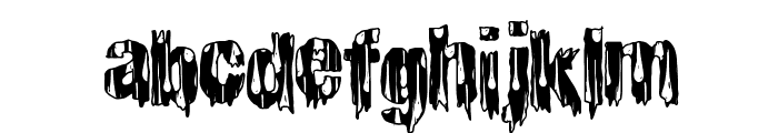CheapHorror Font LOWERCASE
