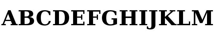 CheapProFonts Serif Pro Bold Font UPPERCASE