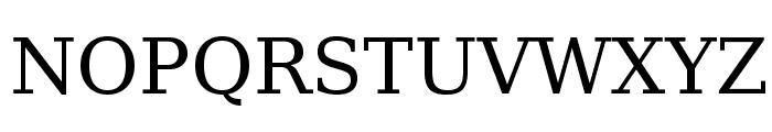 CheapProFonts Serif Pro Regular Font UPPERCASE