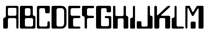 Checkbook Font UPPERCASE