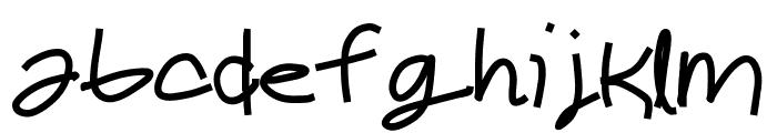 Cheddar Font LOWERCASE