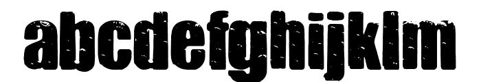 Cheedar Cheese Font LOWERCASE