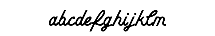 CheerScriptROUNDRegular Font LOWERCASE
