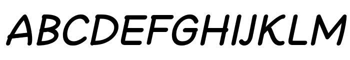 Cheeronsta Bold Italic Font UPPERCASE