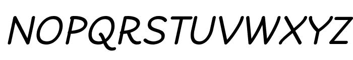 Cheeronsta Italic Font UPPERCASE