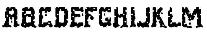 Cheese Fontdue Regular Font LOWERCASE