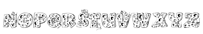 Cheese and Mouse Font LOWERCASE