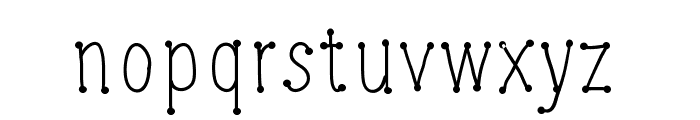 CheeseWine Font LOWERCASE