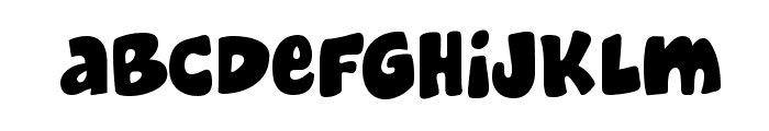 Cheeseburger Font LOWERCASE