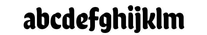 Chela One Font LOWERCASE