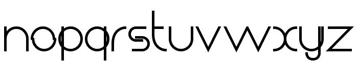 Chempaka Ranting Bold Font LOWERCASE
