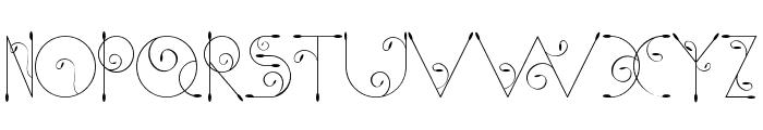 Chempaka Font UPPERCASE