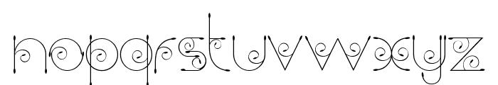 Chempaka Font LOWERCASE