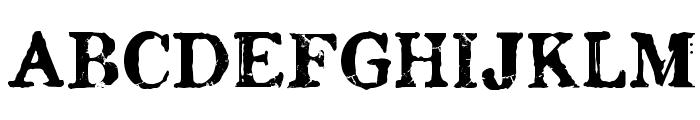 Chenier Regular Font UPPERCASE