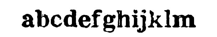 Chenier Regular Font LOWERCASE