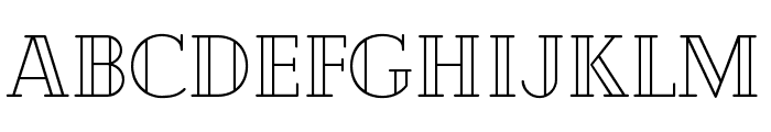 Cheque Regular Font LOWERCASE
