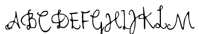 Cher Font Font UPPERCASE