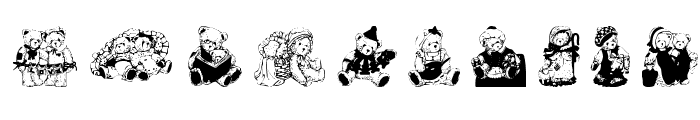 Cherished Teddies Font OTHER CHARS