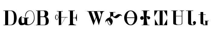 Cherokee Font LOWERCASE