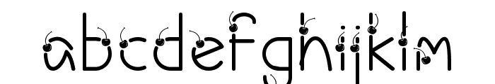 Cherry Ai Font LOWERCASE