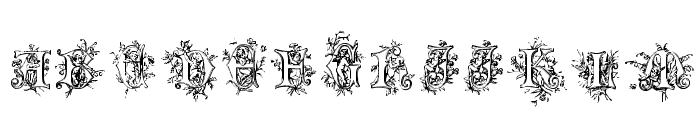 Cherubim Initials Font UPPERCASE
