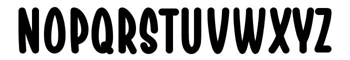 Chesan Bold Font LOWERCASE