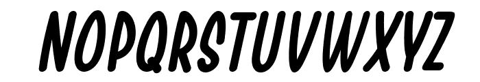 Chesan Italic Font UPPERCASE
