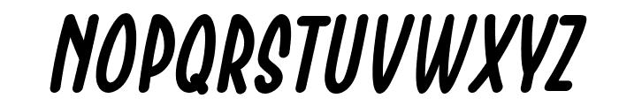 Chesan Italic Font LOWERCASE