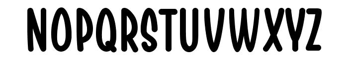 Chesan Font UPPERCASE