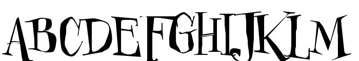 Cheshirskiy Cat Roman Font UPPERCASE