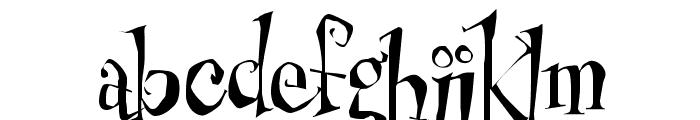 Cheshirskiy Cat Roman Font LOWERCASE