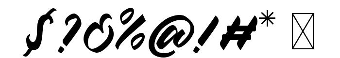 Chesnut Regular Font OTHER CHARS