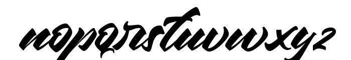 Chesnut Regular Font LOWERCASE