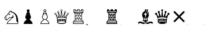 Chess-Leipzig Font LOWERCASE