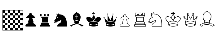 Chess TFB Font UPPERCASE