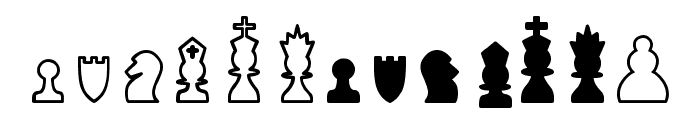 Chess TFB Font LOWERCASE