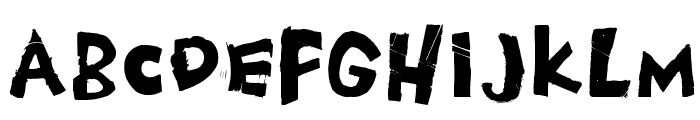 ChesterDrawers Font LOWERCASE