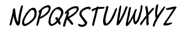ChewedPenBB-Italic Font UPPERCASE