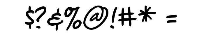 ChewedPenBB Font OTHER CHARS