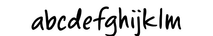 ChewedPenBB Font LOWERCASE