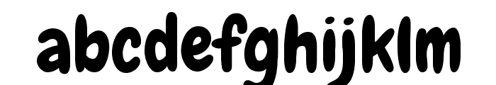 Chewy Font LOWERCASE
