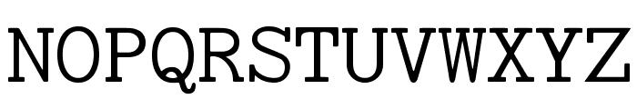 Chey 1 SILManuscriptL Font UPPERCASE