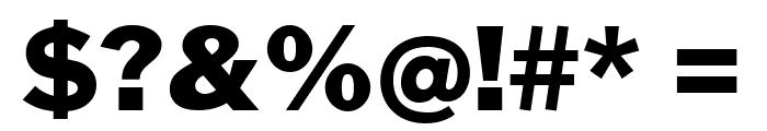 Cheyenne Sans Black Font OTHER CHARS