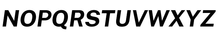 Cheyenne Sans Bold Italic Font UPPERCASE